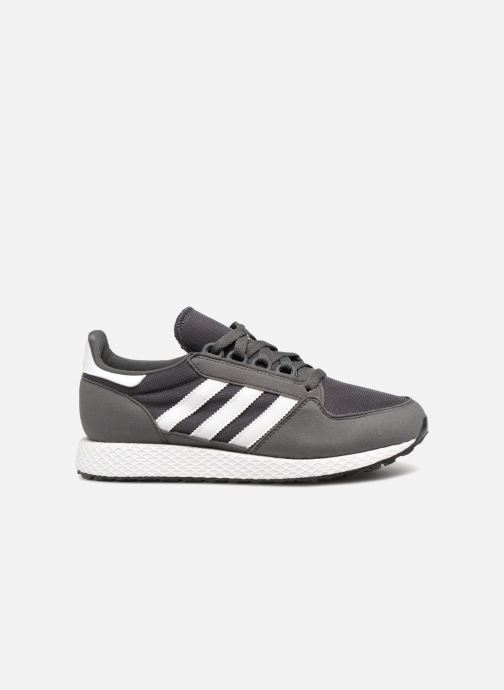 Trainers adidas originals FOREST GROVE J Grey back view