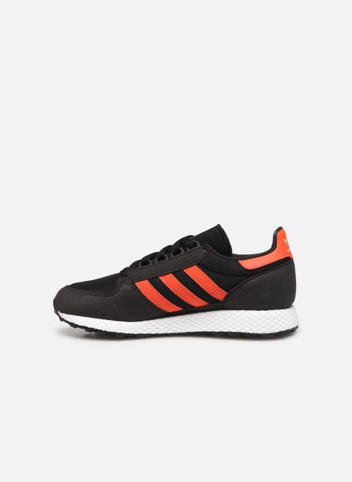 Sneakers adidas originals FOREST GROVE J Zwart voorkant