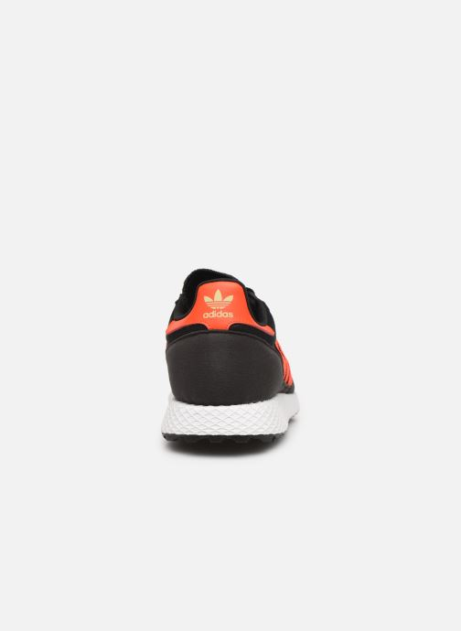 Sneakers adidas originals FOREST GROVE J Zwart rechts