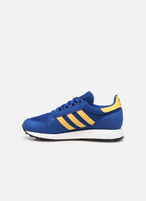 Sneaker adidas originals FOREST GROVE J blau ansicht von vorne