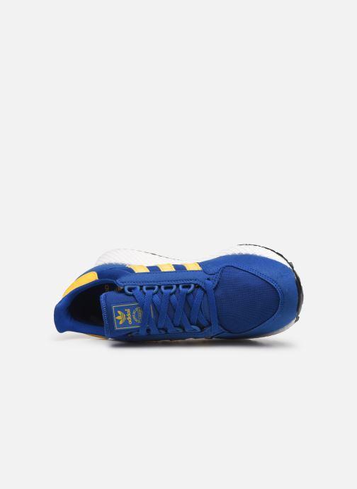 Deportivas adidas originals FOREST GROVE J Azul vista lateral izquierda