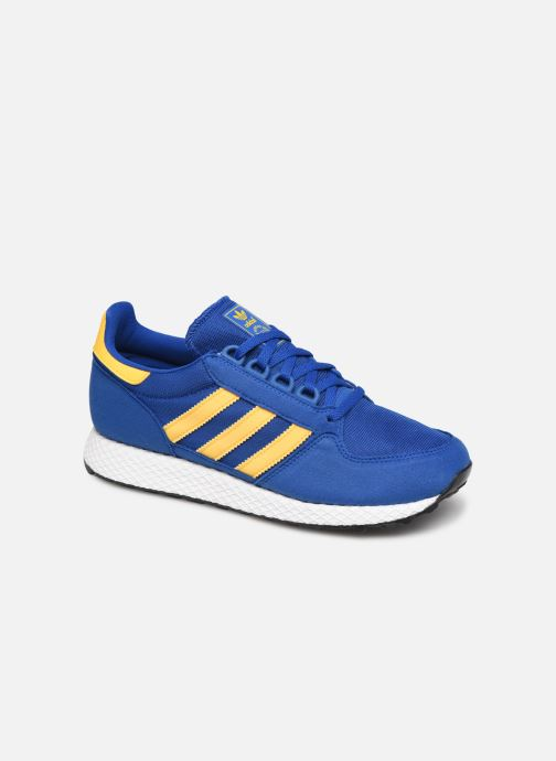 Baskets adidas originals FOREST GROVE J Bleu vue détail/paire