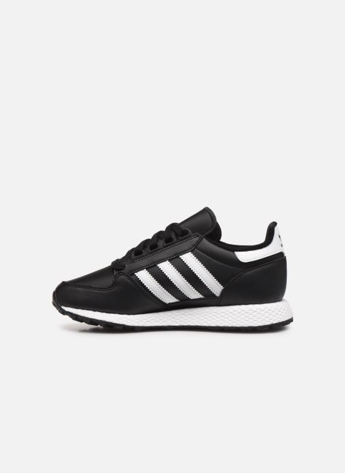 Sneakers adidas originals FOREST GROVE J Nero immagine frontale