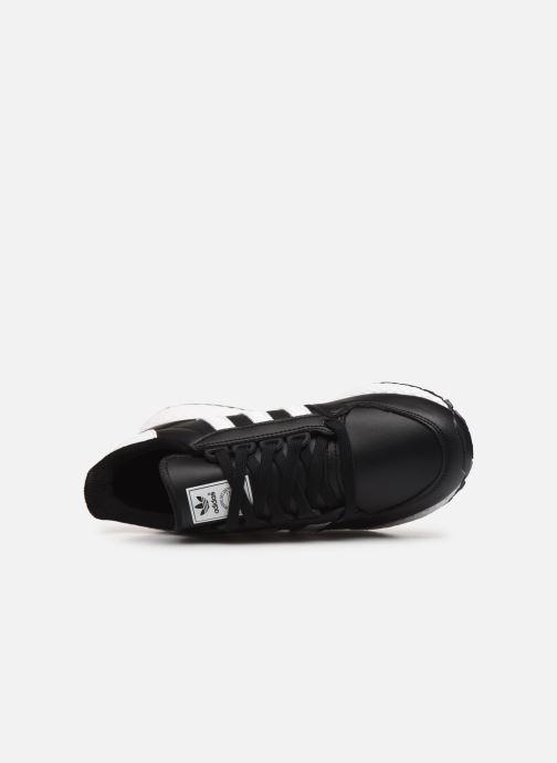 Baskets adidas originals FOREST GROVE J Noir vue gauche