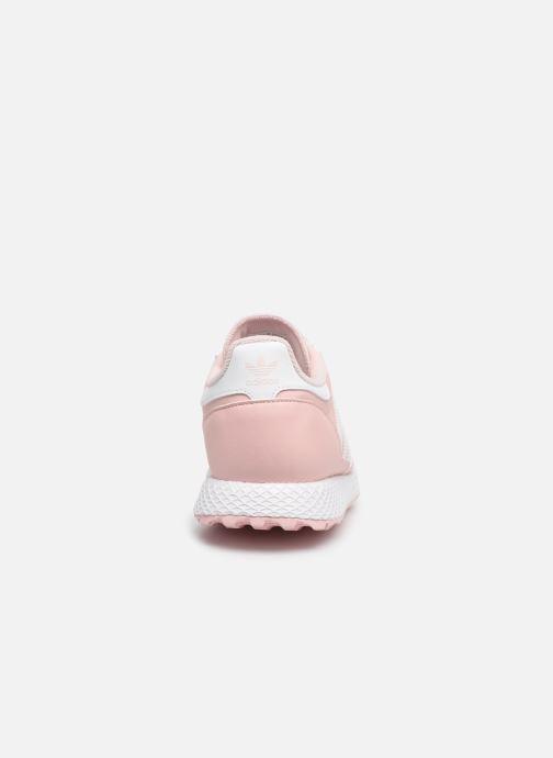 Sneakers adidas originals FOREST GROVE J Rosa immagine destra