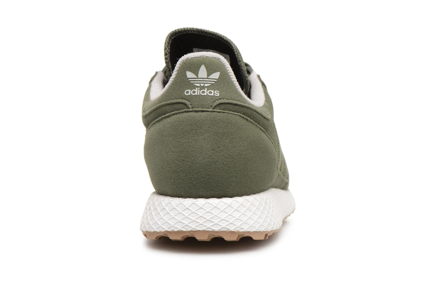 Baskets Adidas Originals FOREST GROVE J Vert vue droite
