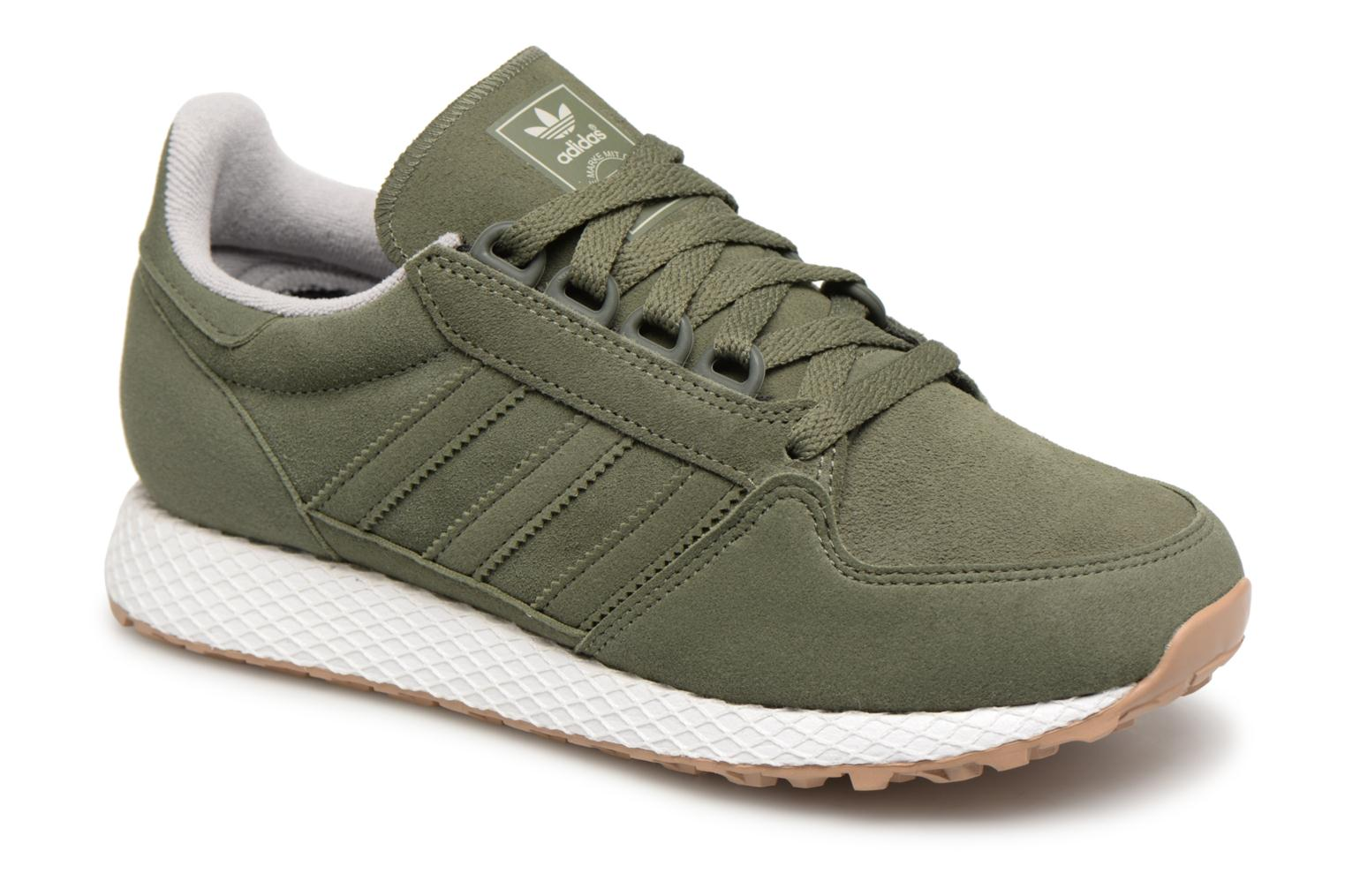 Baskets Adidas Originals FOREST GROVE J Vert vue détail/paire