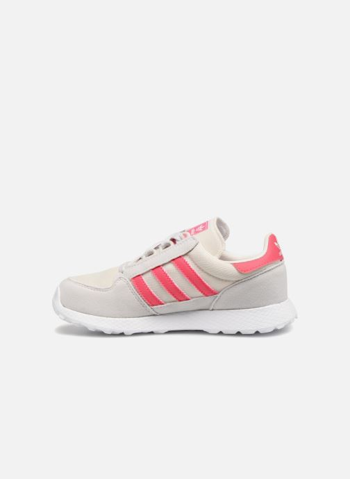 Trainers adidas originals FOREST GROVE C Pink front view