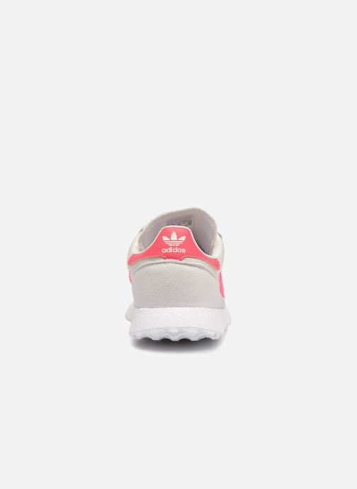 Trainers adidas originals FOREST GROVE C Pink back view
