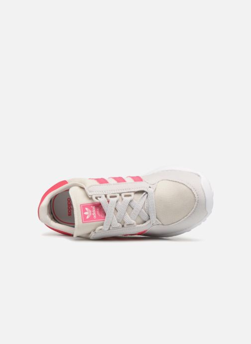 Trainers adidas originals FOREST GROVE C Pink view from the left