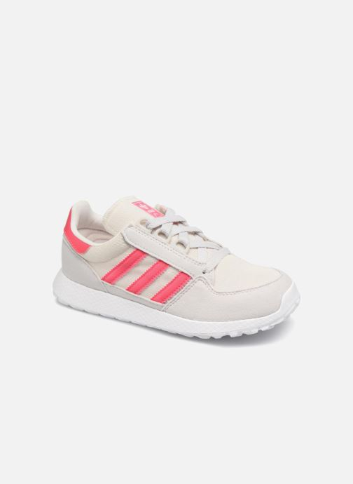 Trainers adidas originals FOREST GROVE C Pink detailed view/ Pair view