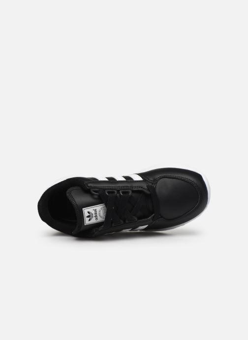 Baskets adidas originals FOREST GROVE C Noir vue gauche
