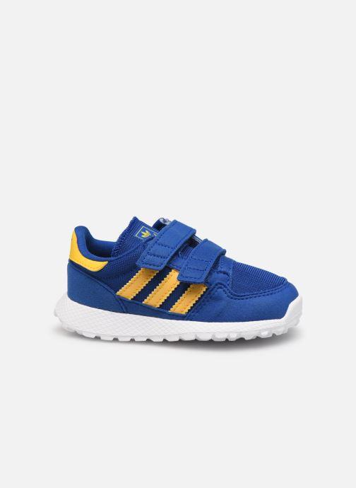 Sneaker adidas originals FOREST GROVE CF I blau ansicht von hinten