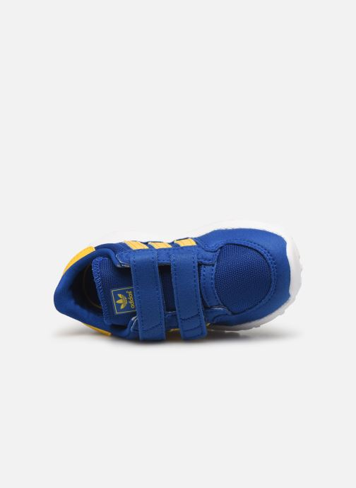 Baskets adidas originals FOREST GROVE CF I Bleu vue gauche