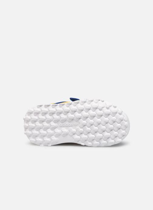 Baskets adidas originals FOREST GROVE CF I Bleu vue haut