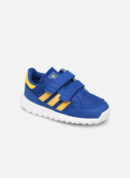 Baskets adidas originals FOREST GROVE CF I Bleu vue détail/paire