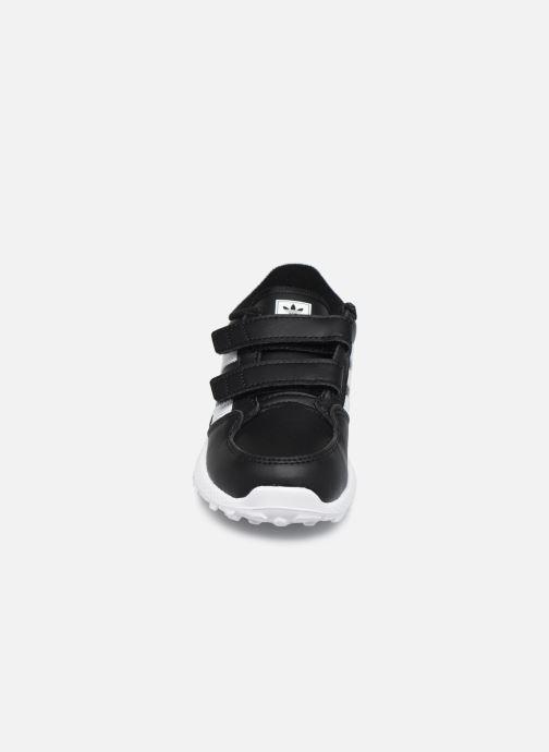 Baskets adidas originals FOREST GROVE CF I Noir vue portées chaussures