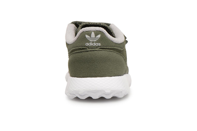 Baskets Adidas Originals FOREST GROVE CF I Vert vue droite