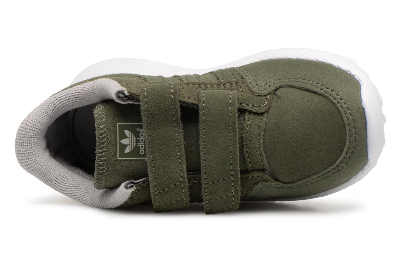 Baskets Adidas Originals FOREST GROVE CF I Vert vue gauche