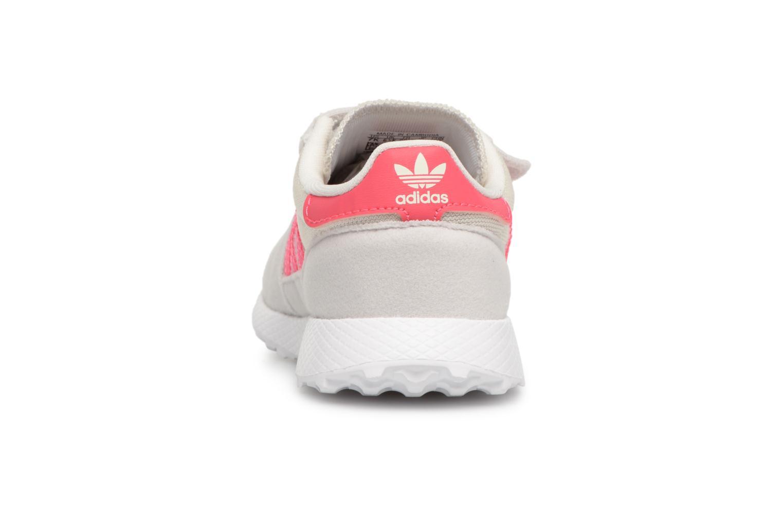 Baskets Adidas Originals FOREST GROVE CF I Blanc vue droite