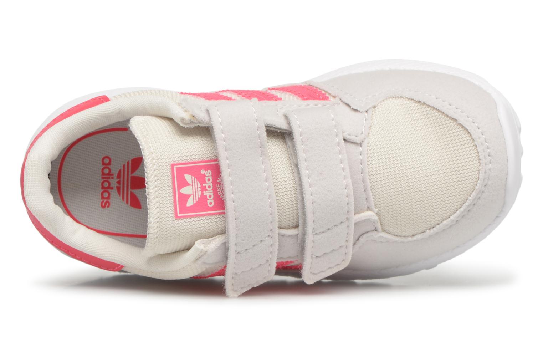 Baskets Adidas Originals FOREST GROVE CF I Blanc vue gauche