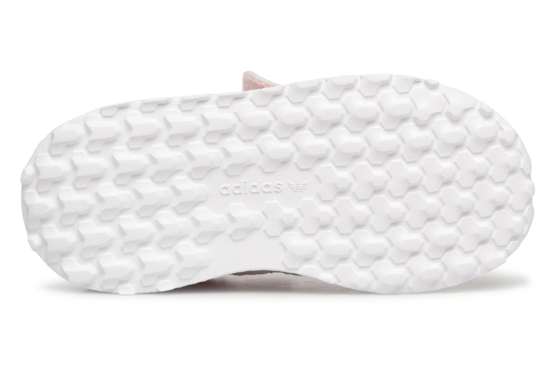 Baskets Adidas Originals FOREST GROVE CF I Blanc vue haut
