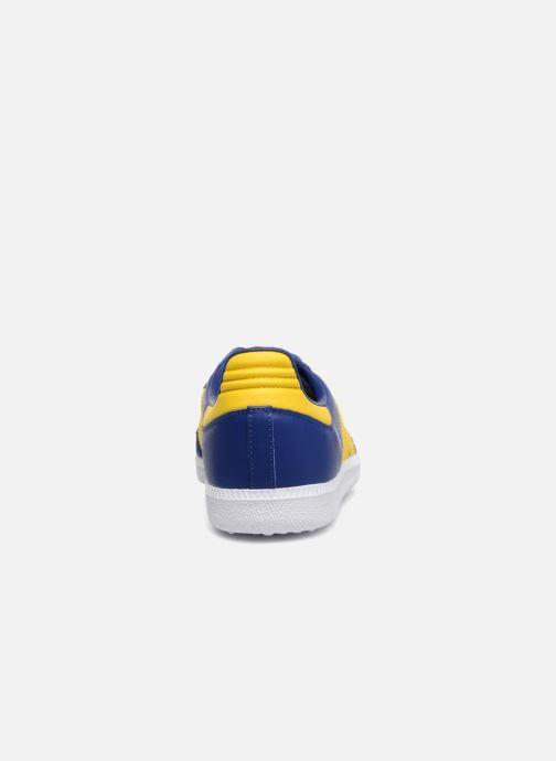Baskets Adidas Originals SAMBA OG J Bleu vue droite