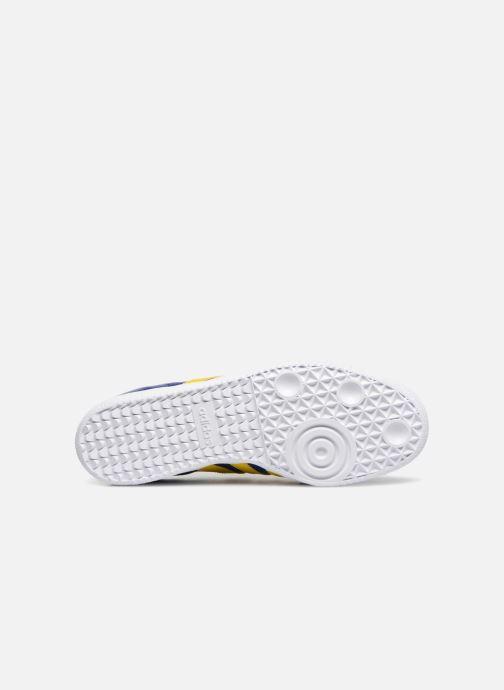 Baskets adidas originals SAMBA OG J Bleu vue haut