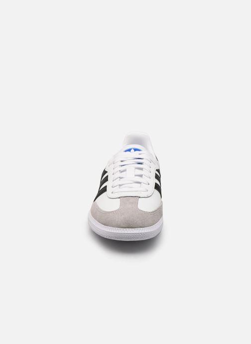 Sneaker adidas originals SAMBA OG J weiß schuhe getragen