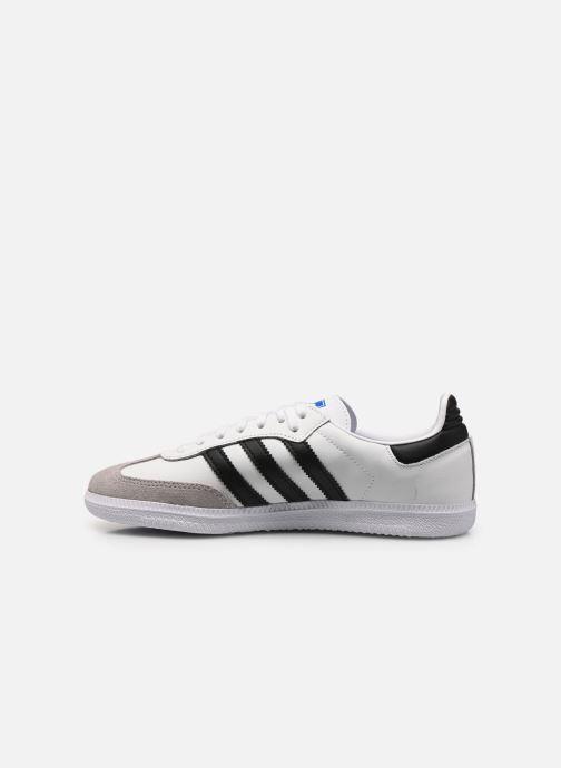 Sneaker adidas originals SAMBA OG J weiß ansicht von vorne