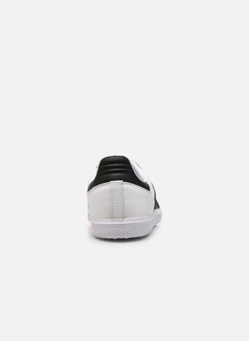 Sneakers adidas originals SAMBA OG J Wit rechts
