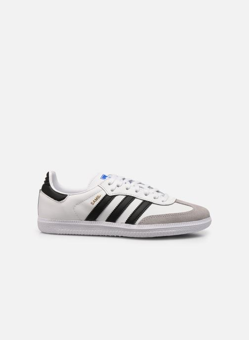 Sneakers adidas originals SAMBA OG J Wit achterkant