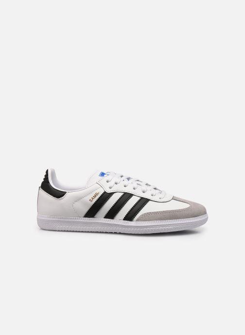 Sneaker adidas originals SAMBA OG J weiß ansicht von hinten