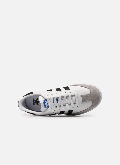 Sneakers adidas originals SAMBA OG J Wit links