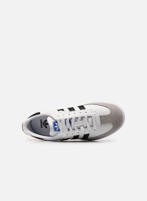 Sneaker adidas originals SAMBA OG J weiß ansicht von links
