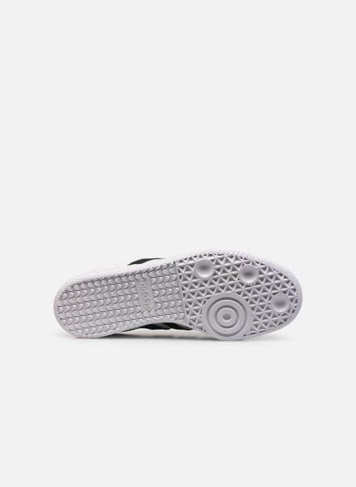 Sneaker adidas originals SAMBA OG J weiß ansicht von oben