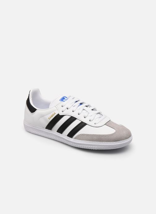 Sneakers adidas originals SAMBA OG J Wit detail