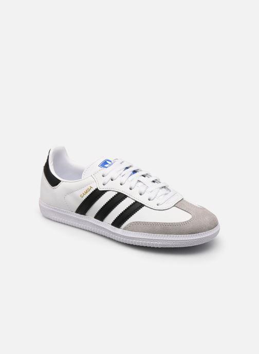 Sneaker adidas originals SAMBA OG J weiß detaillierte ansicht/modell
