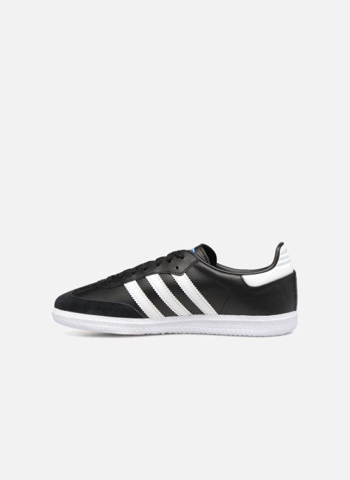 Sneakers adidas originals SAMBA OG J Zwart voorkant