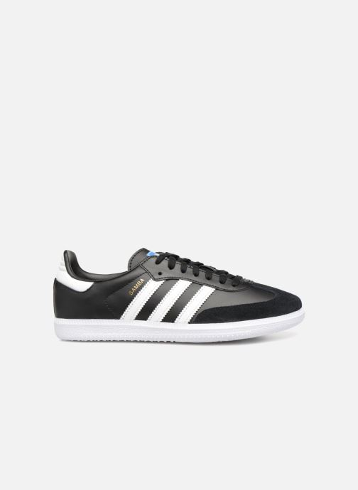 Sneakers adidas originals SAMBA OG J Zwart achterkant