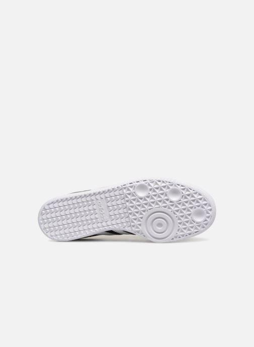 Baskets adidas originals SAMBA OG J Noir vue haut