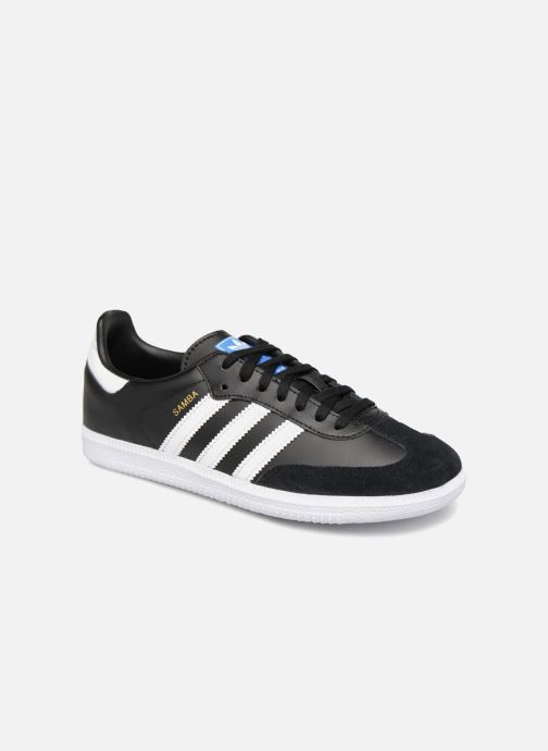 Sneaker adidas originals SAMBA OG J schwarz detaillierte ansicht/modell