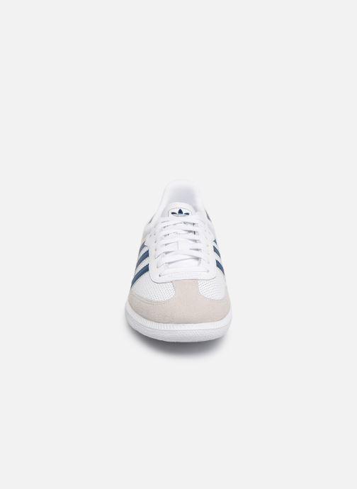Trainers adidas originals SAMBA OG J White model view