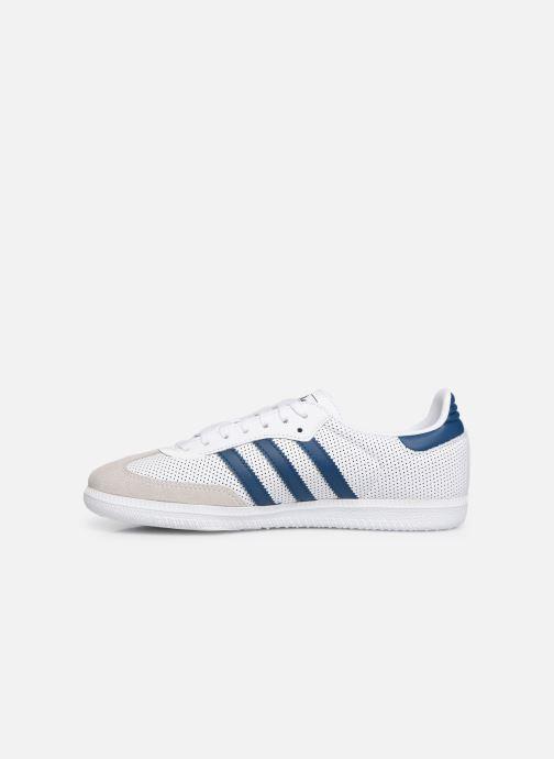Trainers adidas originals SAMBA OG J White front view