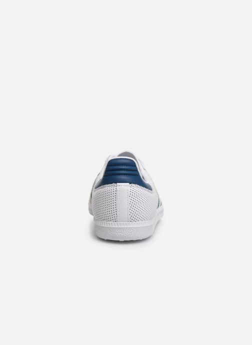 Baskets adidas originals SAMBA OG J Blanc vue droite