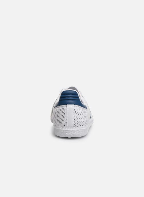 Trainers adidas originals SAMBA OG J White view from the right