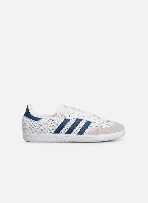 Trainers adidas originals SAMBA OG J White back view