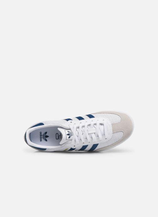Baskets adidas originals SAMBA OG J Blanc vue gauche