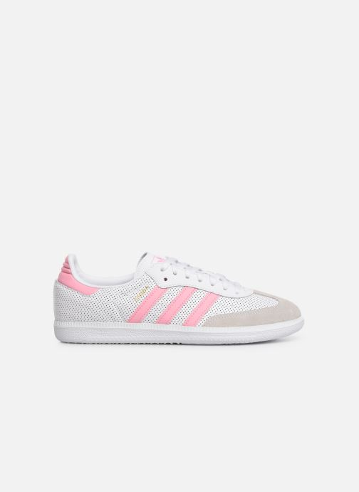 Trainers adidas originals SAMBA OG J White back view
