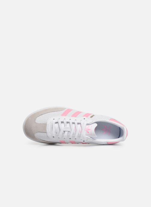 Sneakers adidas originals SAMBA OG J Wit links